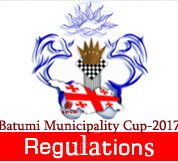 Batumi Municipality Cup-2017 Regulations